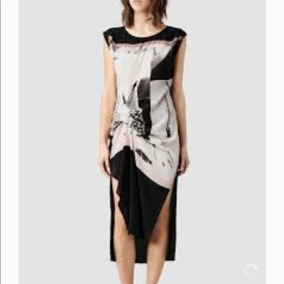988eaf44765f All Saints Dresses   Skirts - Allsaints Paradiso Riviera silk dress size  U.S 10